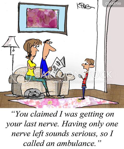 irritants cartoon