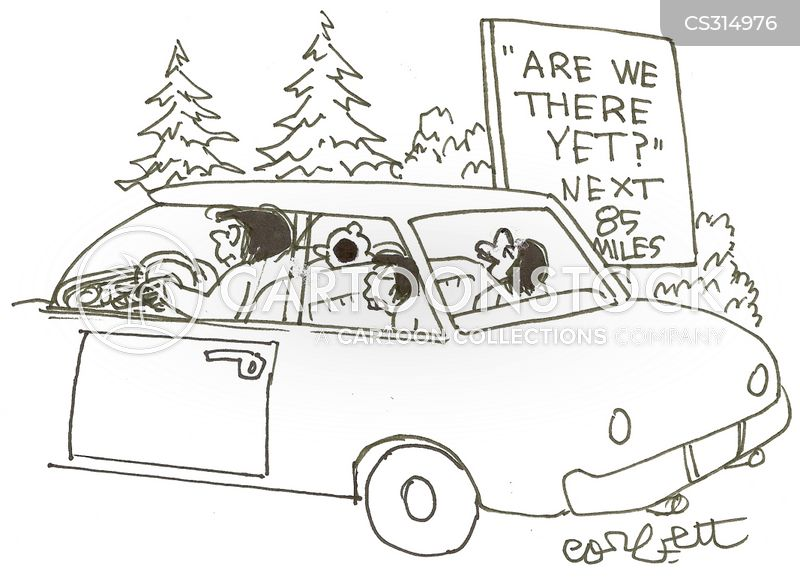 are we nearly there yet cartoon