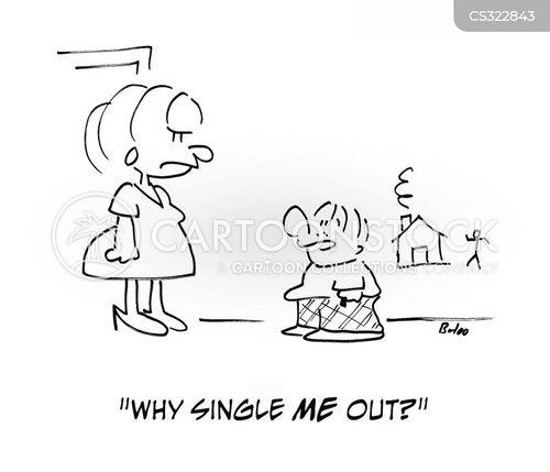 singled out cartoon