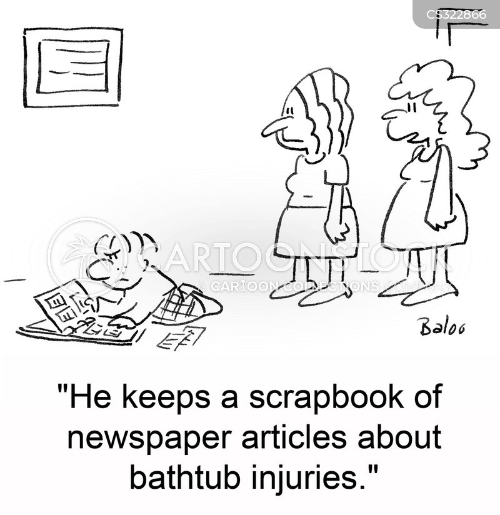 scrapbooks cartoon