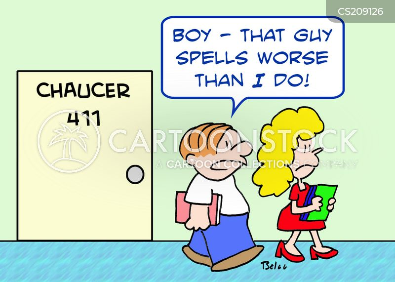 bad spelling cartoon