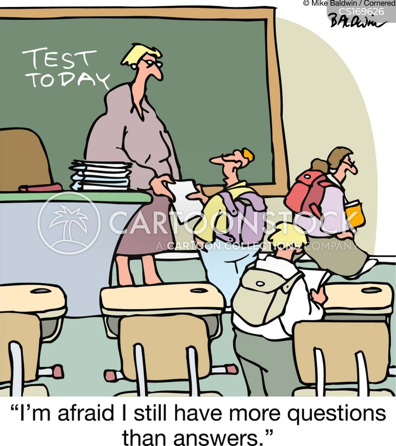 Asking Questions Cartoons and Comics - funny pictures from ... Question Cartoon Funny