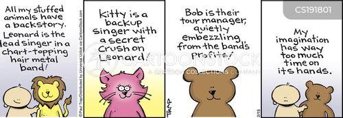 back story cartoon