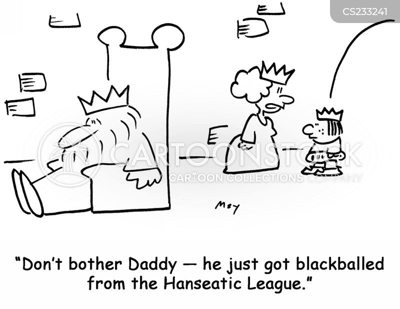 blackball cartoon