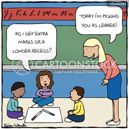 school assignments cartoon