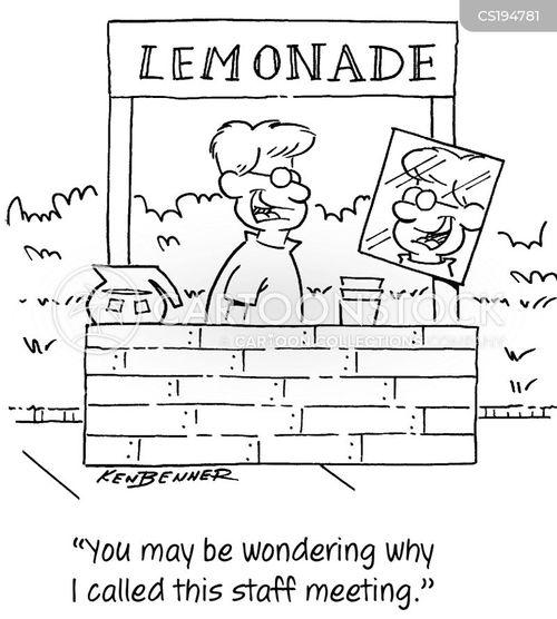 self-employment cartoon