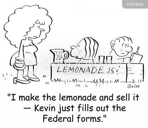 federal forms cartoon