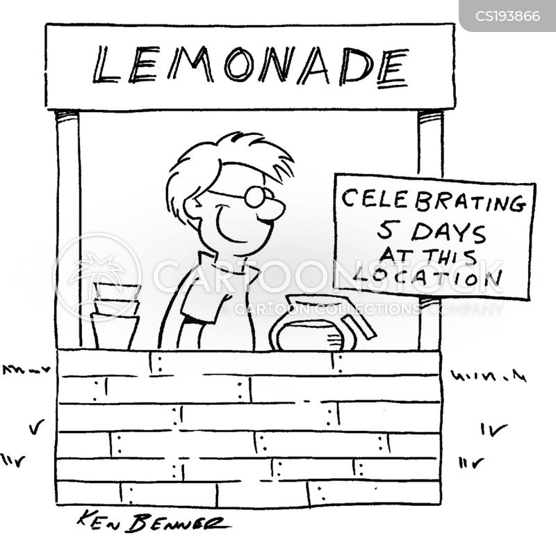 refreshment cartoon