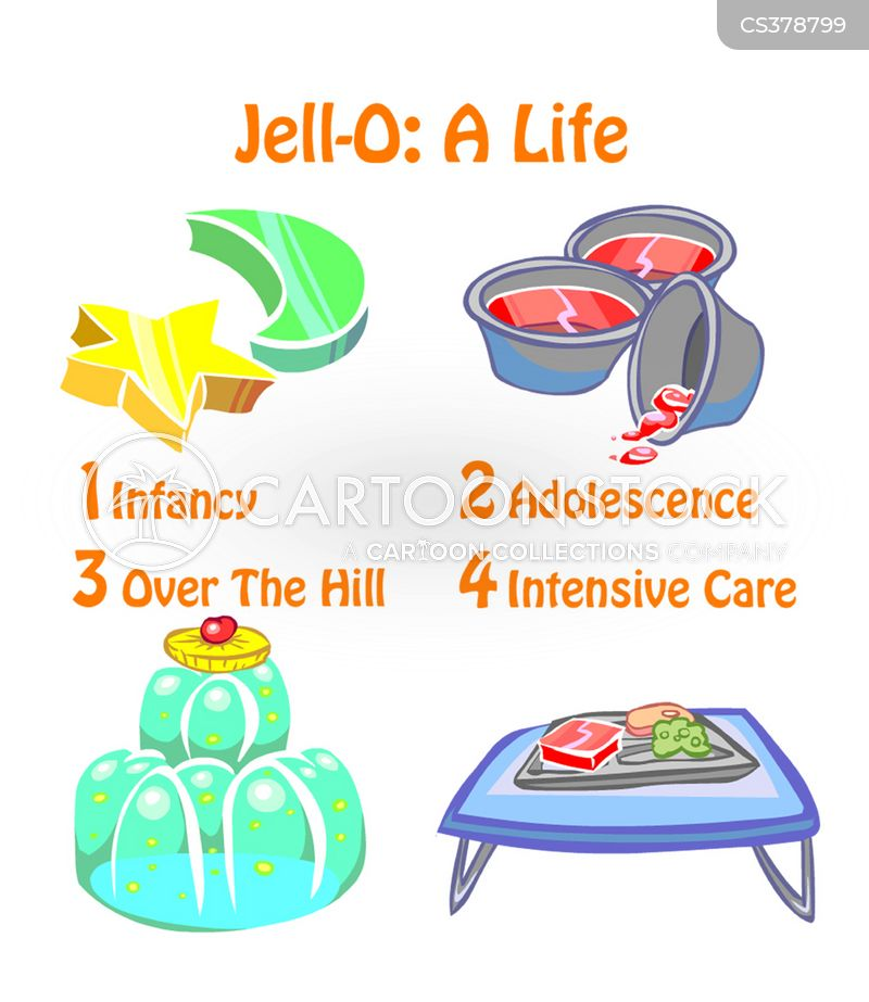 jello cartoon