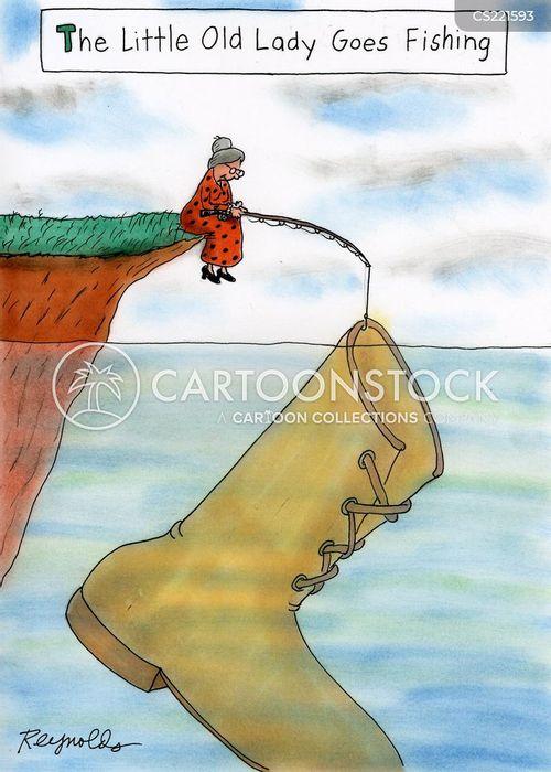 old boot cartoon