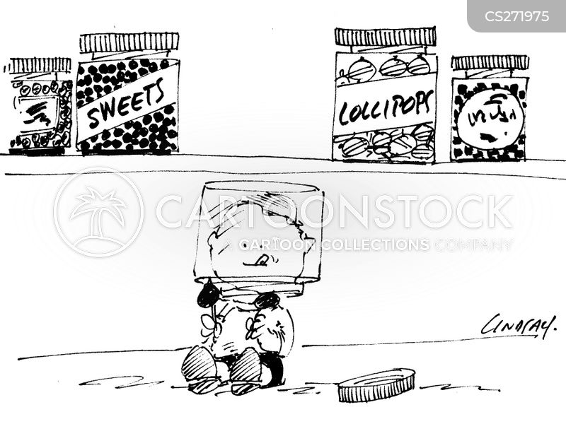 lollies cartoon