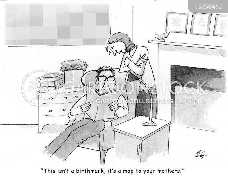 mother in laws cartoon