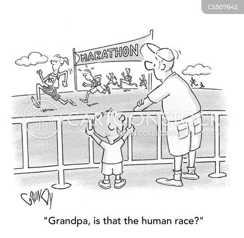 endurance test cartoon