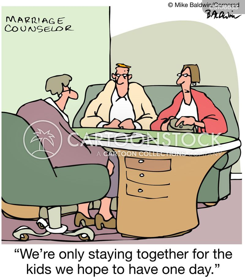staying together cartoon