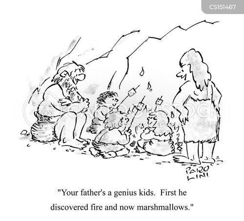 first fire cartoon