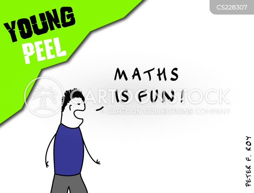 maths geeks cartoon