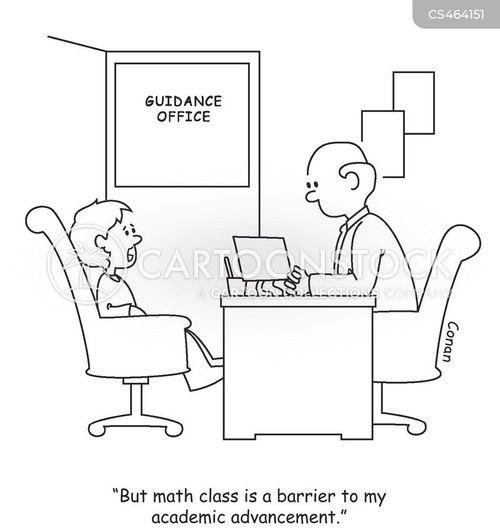 careers guidance cartoon