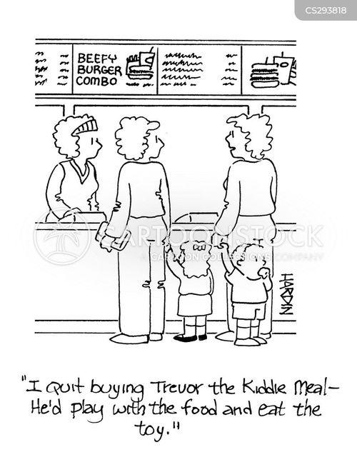 kiddie meal cartoon