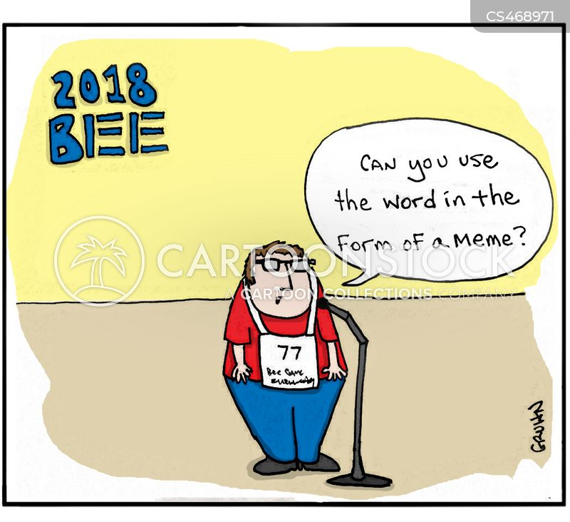 spelling competition cartoon