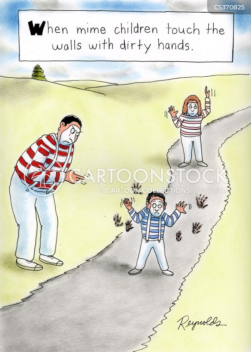 dirty child cartoon
