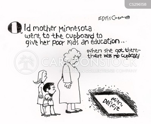 defecit cartoon