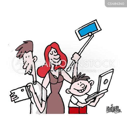 digital life cartoon