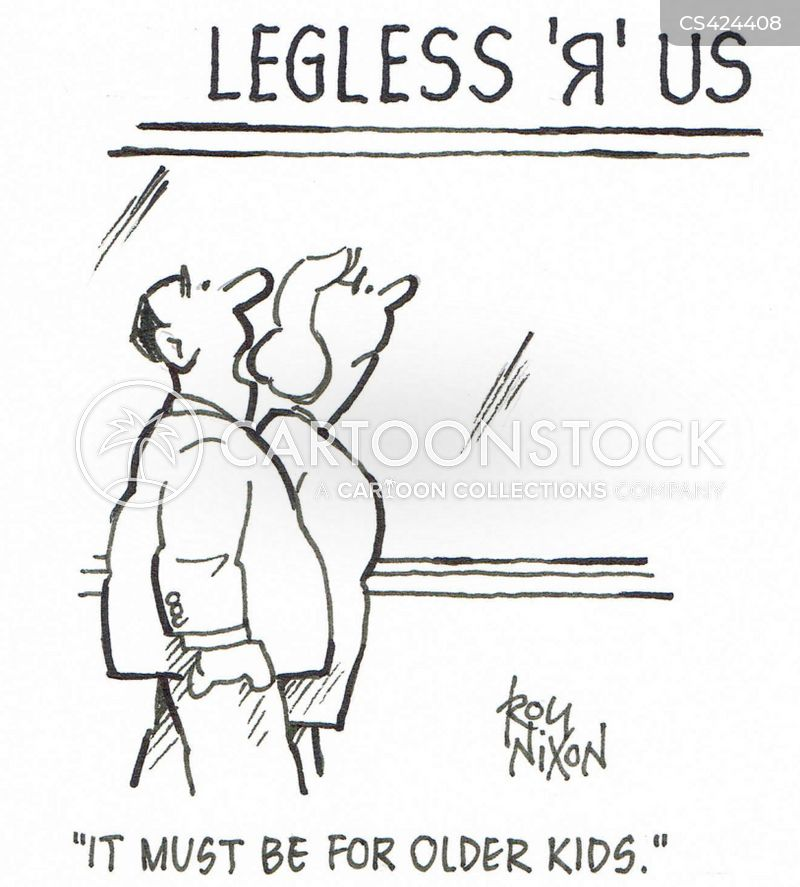 legless cartoon
