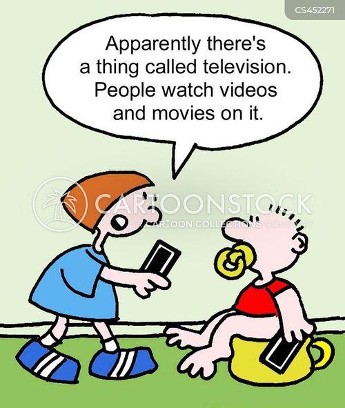 millennial generation cartoon