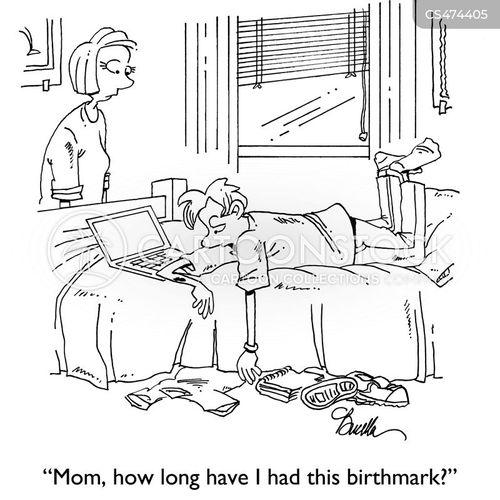congenital cartoon