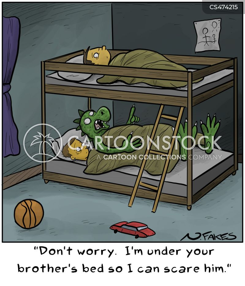 bunkbed cartoon