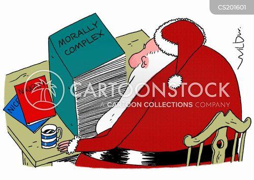 naughty lists cartoon