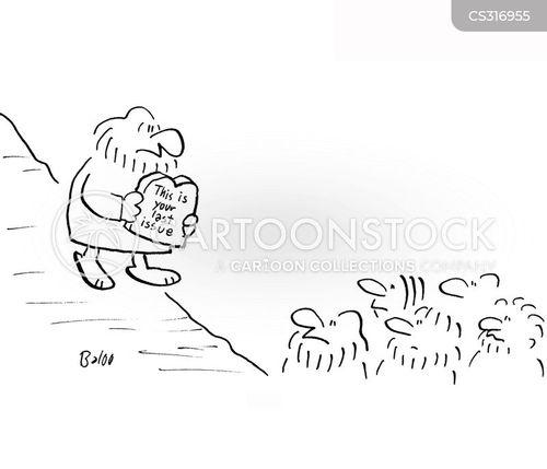 last issues cartoon