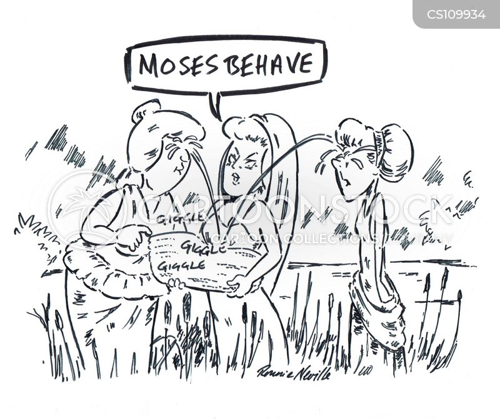 old testaments cartoon