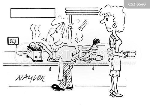 drying up cartoon