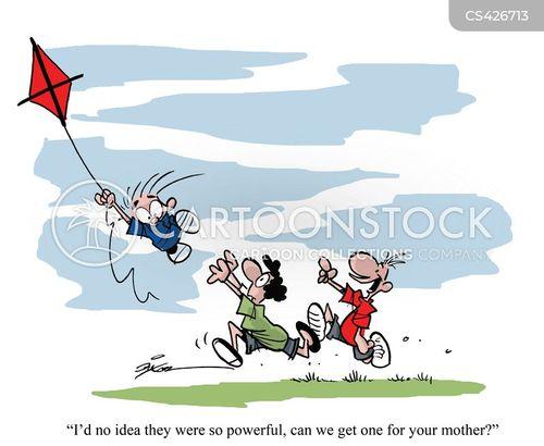 kite cartoon