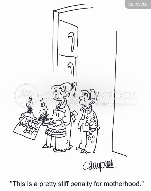 breakfast-in-bed cartoon