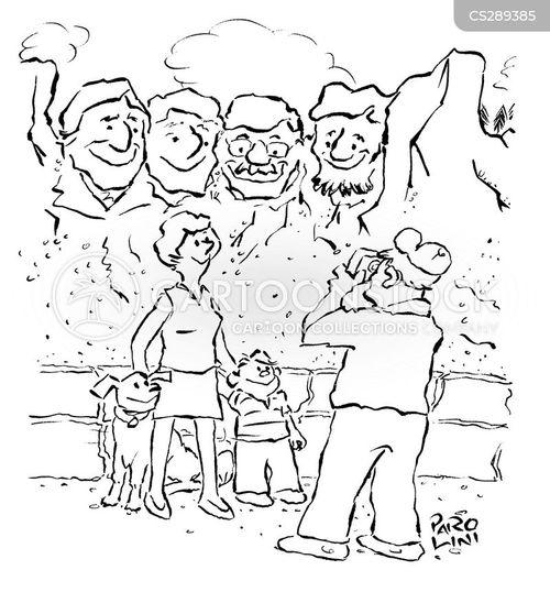national memorial cartoon