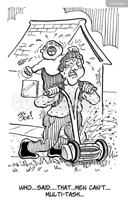modern man cartoon