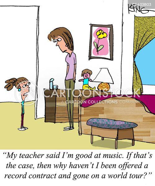 music class cartoon