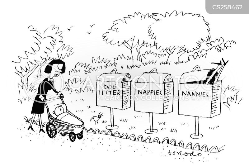 disposal cartoon