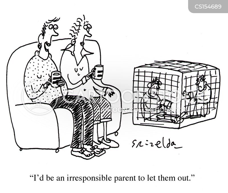 overprotective parents cartoon