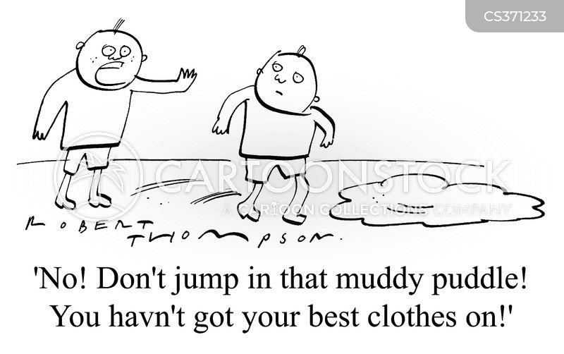puddle cartoon