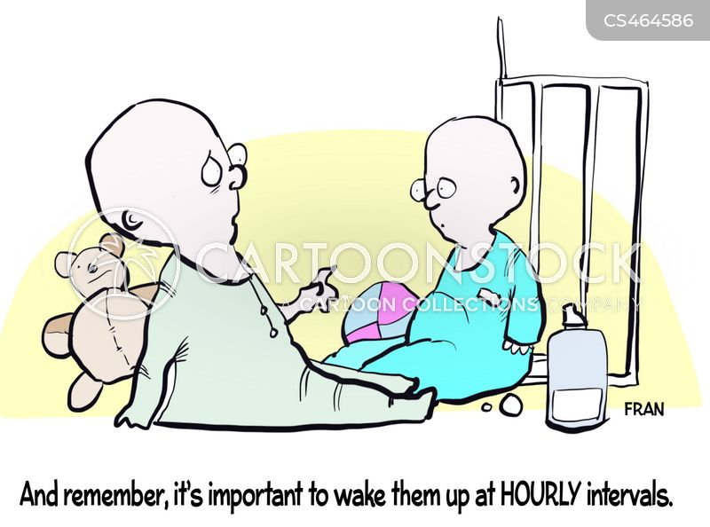 sleep deprivations cartoon
