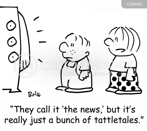 snitching cartoon