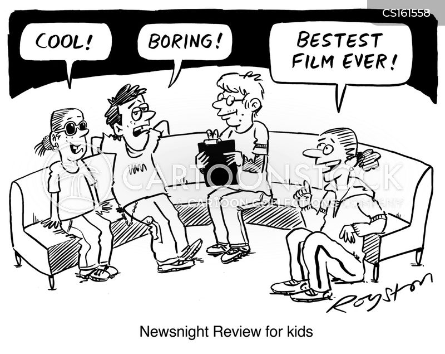 late show cartoon