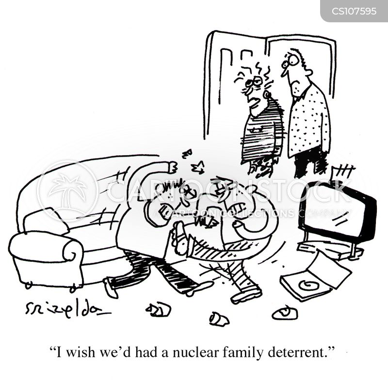 nuclear arms cartoon