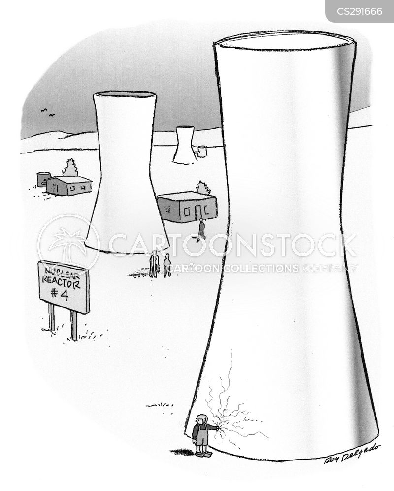 nuclear disaster cartoon