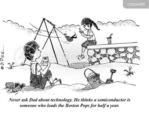 semiconductors cartoon