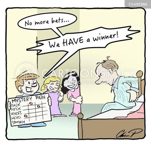 soreness cartoon
