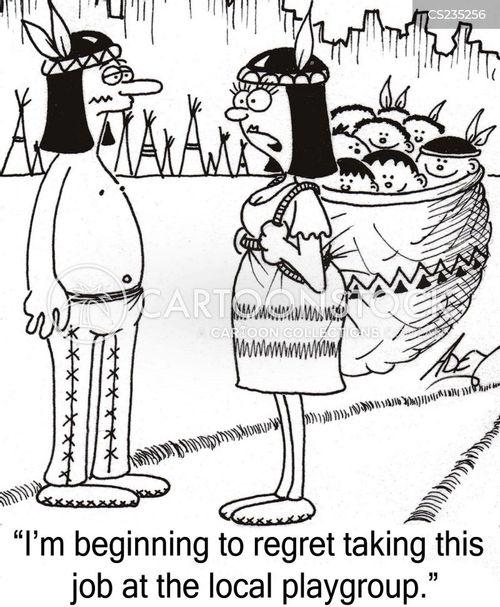 social history cartoon